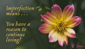 <b>Embrace your imperfections</b>