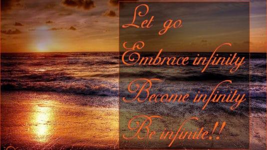 <b>Be infinite</b>